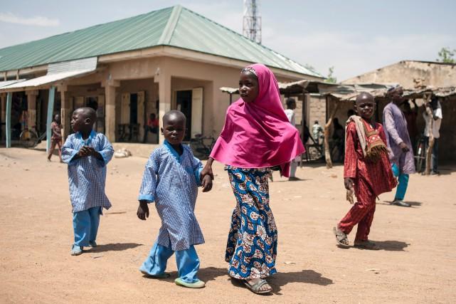 Le village de Chibok, où a eu lieu... (AFP)