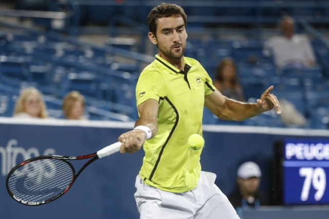 Marin Cilic... (PHOTO AP)