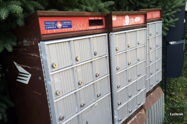 La plupart des boîtes postales ciblées auraient été... (Martin Roy, LeDroit)