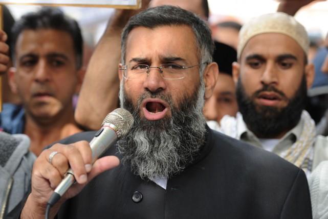 Le prédicateur britanniqueAnjem Choudary a été déclaré coupable,... (ARCHIVES AFP)