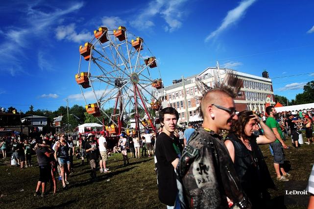 La dernière édition du Rockfest s'est tenue du... (Etienne Ranger, Archives LeDroit)