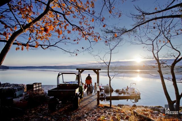 Le village de Booth Bay, au Maine... (Marco Campanozzi, Archives La Presse)