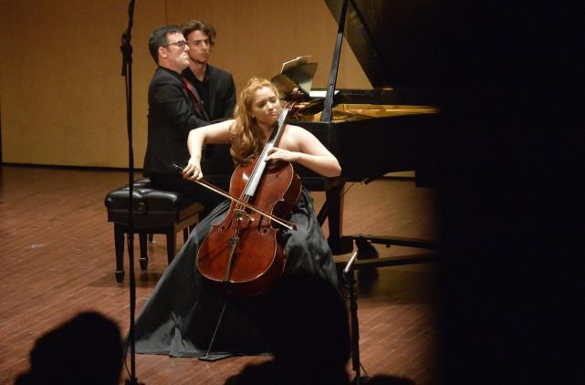 Sara Scanlon faisait partie des cinq finalistes qui... (Spectre média, Maxime Picard)