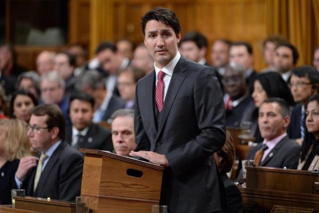 En campagne électorale, les libéraux de Justin Trudeau... (photo adrian wyld, archives la presse canadienne)