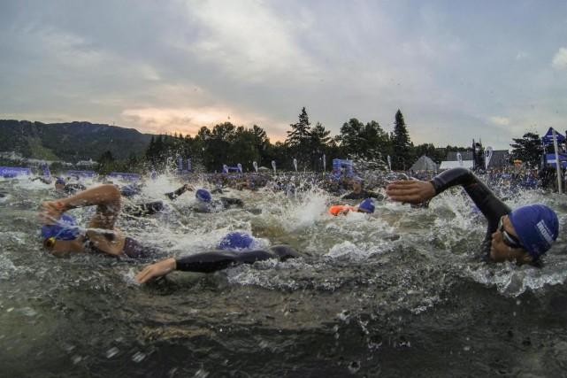 Un cinquième Ironman a eu lieu à Mont-Tremblant,... (Photo Hugo-Sébastien Aubert, La Presse)