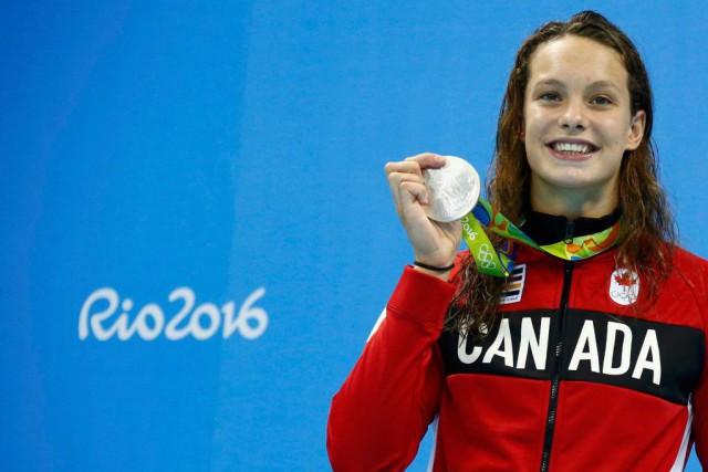La nageuse Penny Oleksiak a été choisie, hier... (PhotoDavid Gray, Reuters)