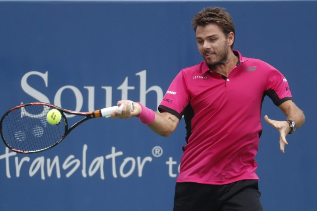 Stanislas Wawrinka... (Photo John Minchillo, AP)