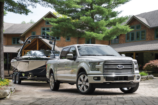 Le Ford F-150 2016... (Photo fournie par le constructeur)