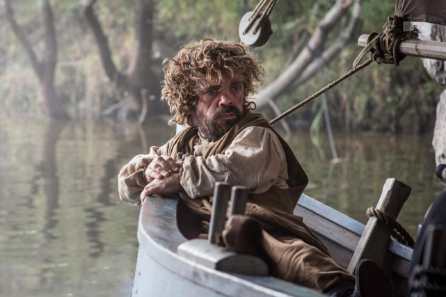 L'acteur Peter Dinklage interprète le personnage de Tyrion Lannister... (PHOTO HELEN SLOAN, FOURNIE HBO/ASSOCIATED PRESS)
