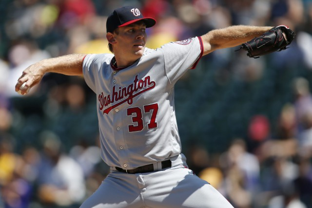 Stephen Strasburg... (Photo David Zalubowski, AP)