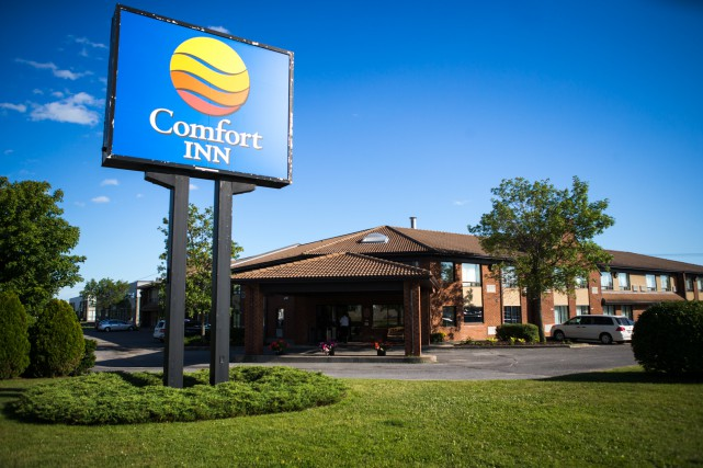Les employés du Comfort Inn de Trois-Rivières ont... (Photo: Olivier Croteau)