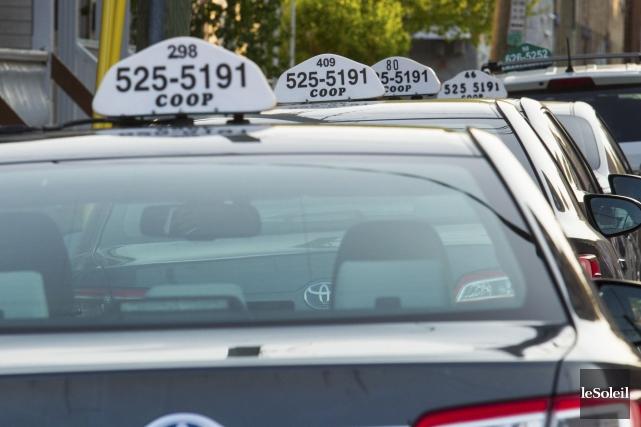 Environ 480 transports ont été effectués par taxi... (Photothèque Le Soleil, Caroline Grégoire)