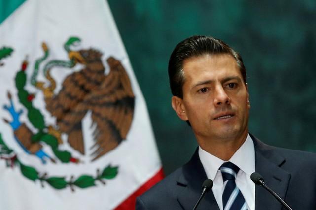 Enrique Peña Nieto... (REUTERS)