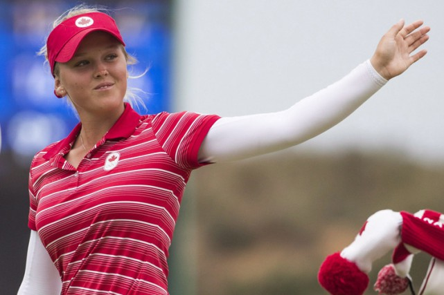 Brooke Henderson... (PHOTO PC)