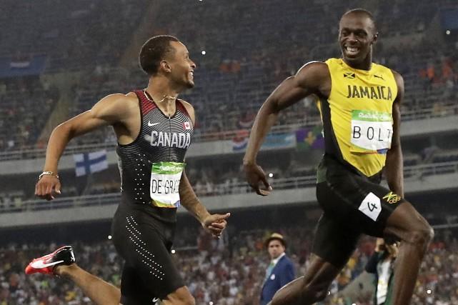 Cette image des hommes les plus rapides au... (Archives AP)