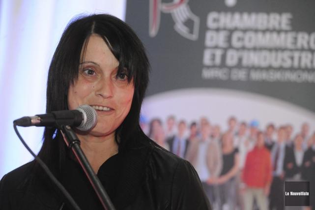 Josée Lessard, ex-directrice générale de la Chambre de... (Stéphane Lessard, Le Nouvelliste)