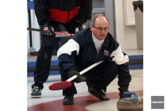 Le monde du curling régional est en deuil, à la suite du décès d'André... (Archives Le Quotidien)