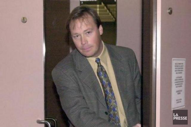 Benoît Roberge, en décembre 2000, alors qu'il est... (PHOTOARMAND TROTTIER, ARCHIVES LA PRESSE)