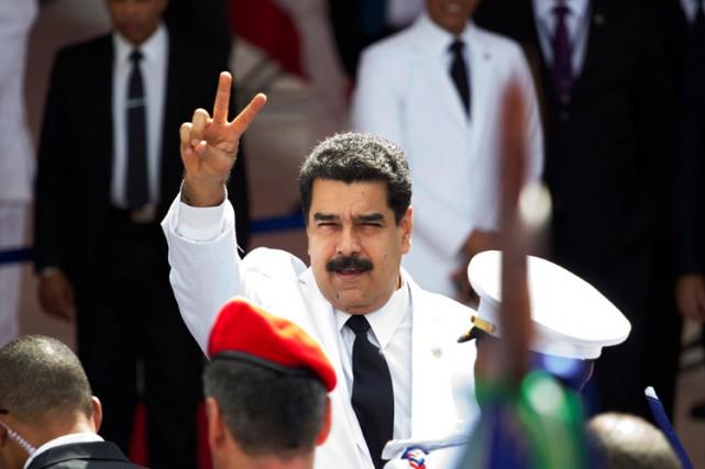 Le président du Venezuela,Nicolas Maduro.... (REUTERS)