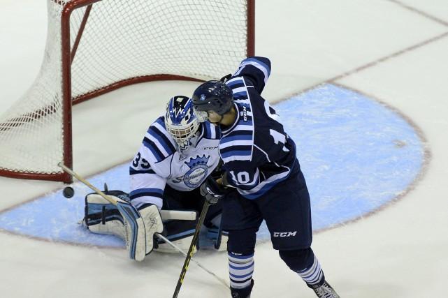 Hockey Sags Blanc vs Bleu... (Archives Le Quotidien)