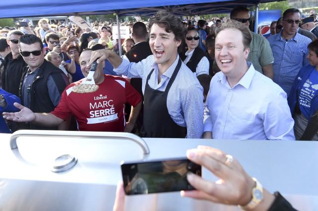 Le premier ministre Trudeau a conclu la retraite... (La Presse canadienne, Nathan Denette)