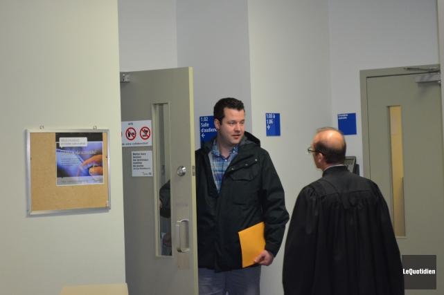 Mathieu Goulet se voit imposer une peine de huit mois de prison à purger dans... (Archives Le Quotidien)