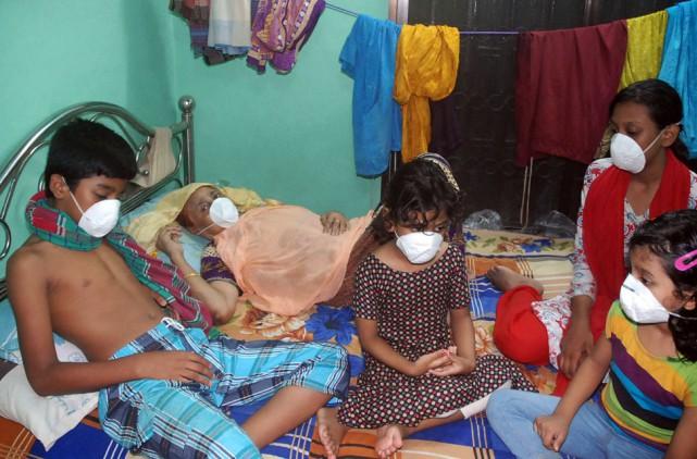 «Environ 150 personnes ont reçu des soins sur... (AFP)