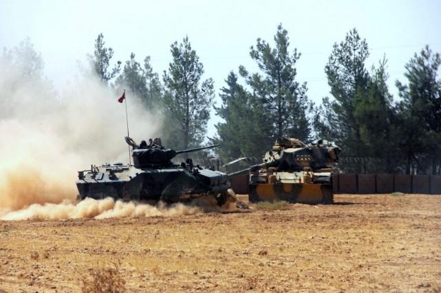 La Turquie considère l'EI et le PYD comme... (PHOTO AP)