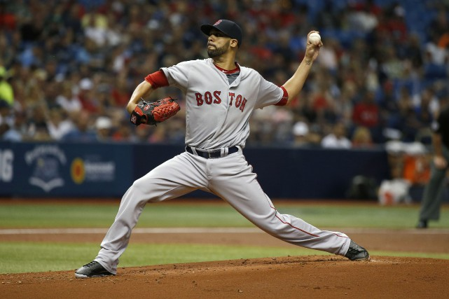 David Price a prolongé à 25 la série de... (Photo Kim Klement, USA TODAY Sports)