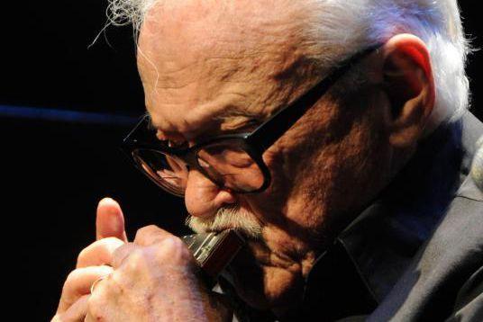 Toots Thielemans lors de son ultime concert montréalais,... (Photo Bernard Brault, Archives La Presse)