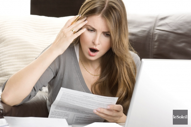 La famille canadienne moyenne a payé un total de 34 154 $ en taxes et impôts... (Photothèque Le Soleil)