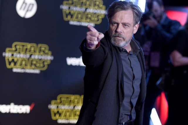 Mark Hamill... (Photo Archives AP)