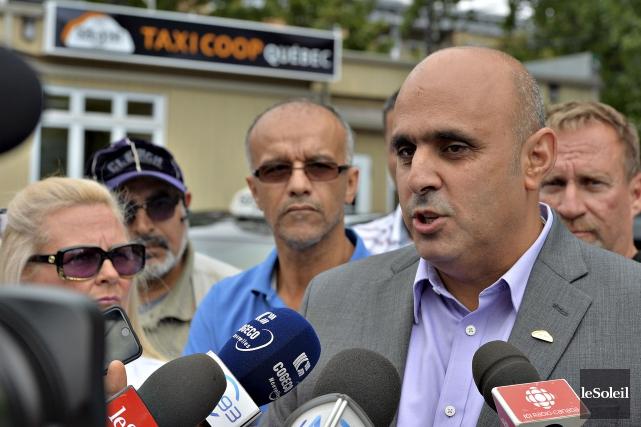 Abdallah Homsy, président du Regroupement des intermédiaires du... (Photothèque Le Soleil, Patrice Laroche)