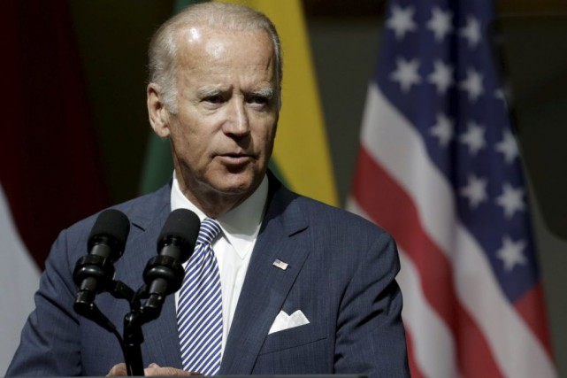 Joe Biden... (PHOTO INTS KALNINS, ARCHIVES REUTERS)