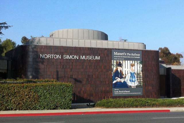 Le musée Norton Simon de Pasadena était le... (PHOTO ARCHIVES AP)