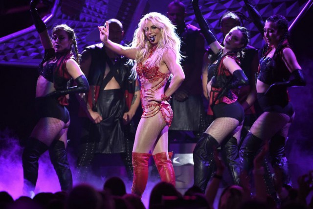 Britney Spears... (PHOTO Chris Pizzello, archives AP)