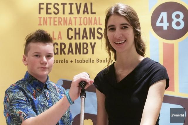 Arnaud Quintal-Émard et Marie-Jeanne Fontaine font partie des... (Alain Dion, La Voix de l'Est)