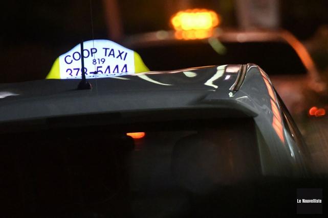 Jacques était chauffeur de taxi depuis deux mois... (Stéphane Lessard, Le Nouvelliste)
