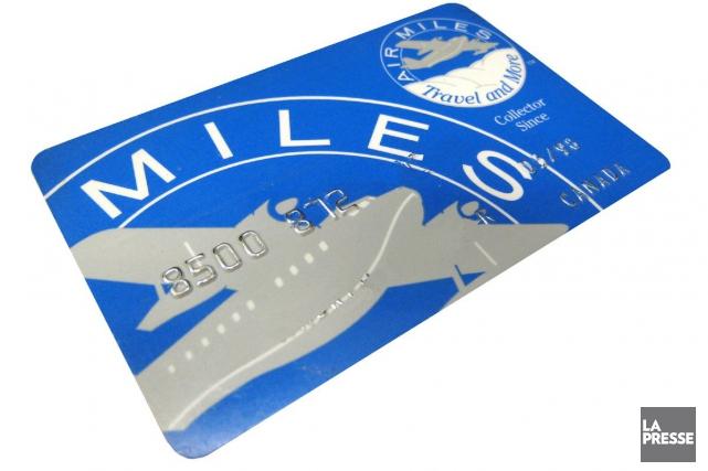Le programme de fidélisation Air Miles compte plus... (Archives La Presse)