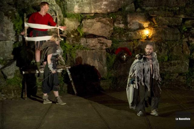 La pièce Merlin, l'origine d'une légende a connu... (Sylvain Mayer, Le Nouvelliste)