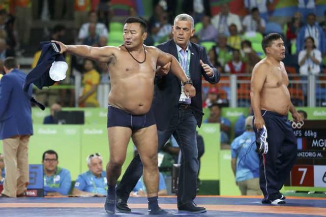 En Mongolie, se dénuder est considéré comme une... (PHOTO REUTERS)