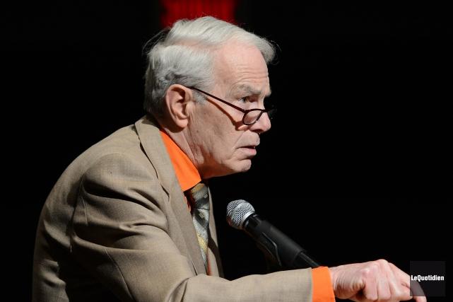 Léonard Gagnon, président et fondateur de l'ERD.... (Archives Le Quotidien, Jeannot Léˆvesque)