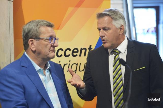 Le maire Labeaume compte rappeler au ministre Laurent... (Photothèque Le Soleil, Jean-Marie Villeneuve)