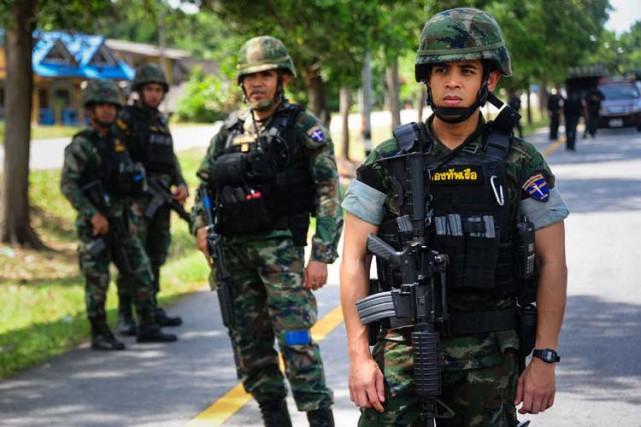 Les attaques à la bombe sont fréquentes dans... (ARCHIVES AFP)