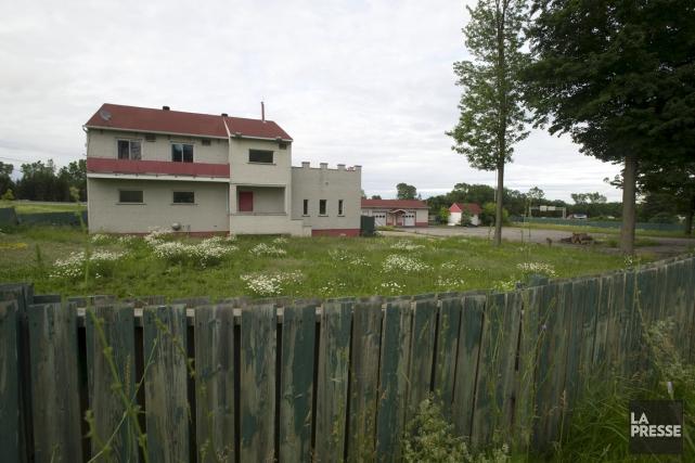 Le bunker des Hells Angels Trois-Rivières, avant sa... (Stéphane Lessard)