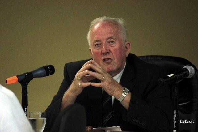 Le maire de Casselman, Conrad Lamadeleine, souhaite tenir... (Martin Brunette, LeDroit)