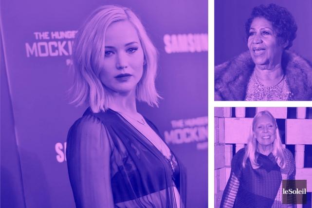 Jennifer Lawrence, l'actrice la mieux payée (Infographie Le Soleil)