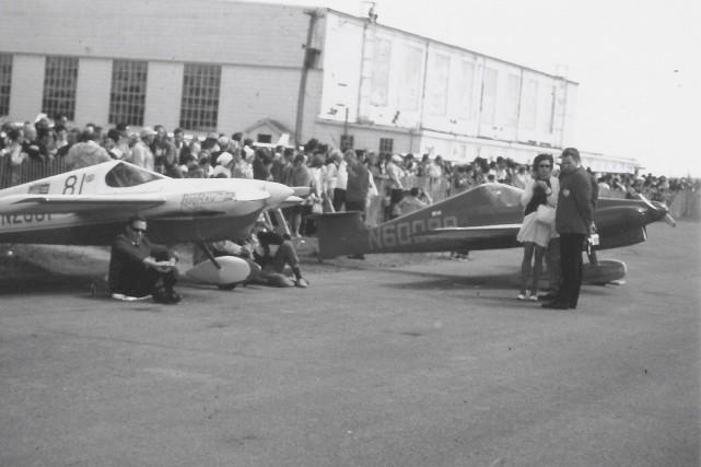 Au Festival aérien de 1968, une course aérienne... (Photo fournie par Raymond Thabet)