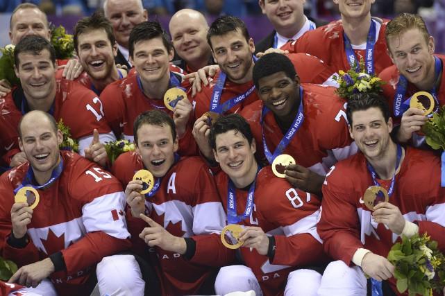 Le Canada et ses vedettes de la LNH... (AFP)