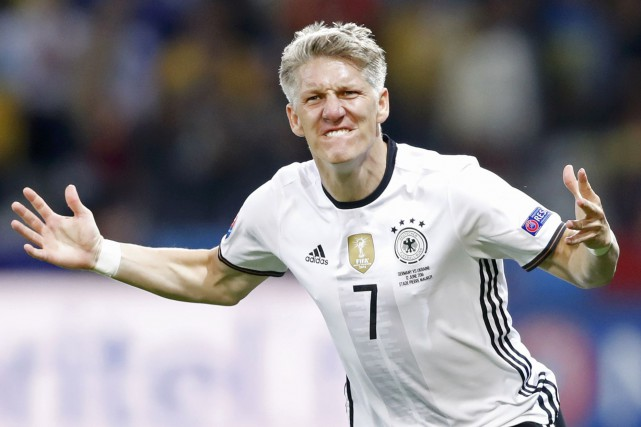 Bastian Schweinsteiger... (Photo Carl Recine, REUTERS)